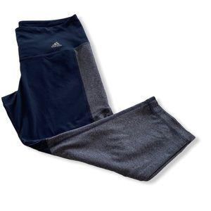 Adidas crop workout pants
